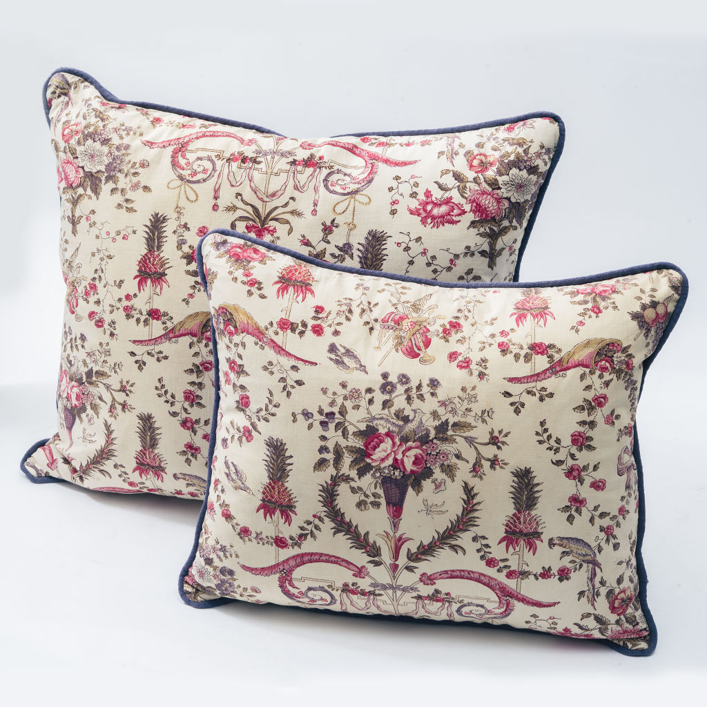 French Block Print Cushion