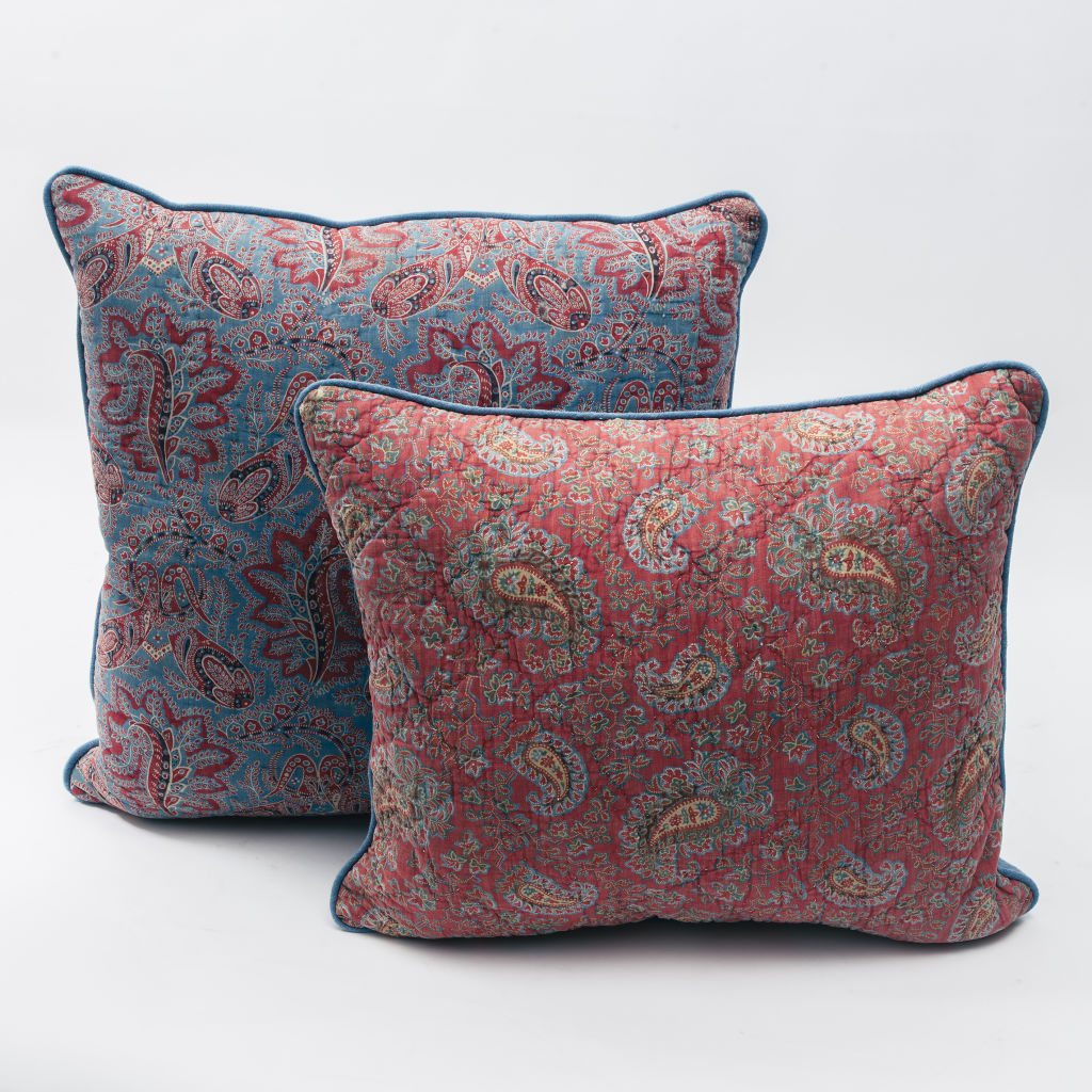 French Paisley Quilt Cushion