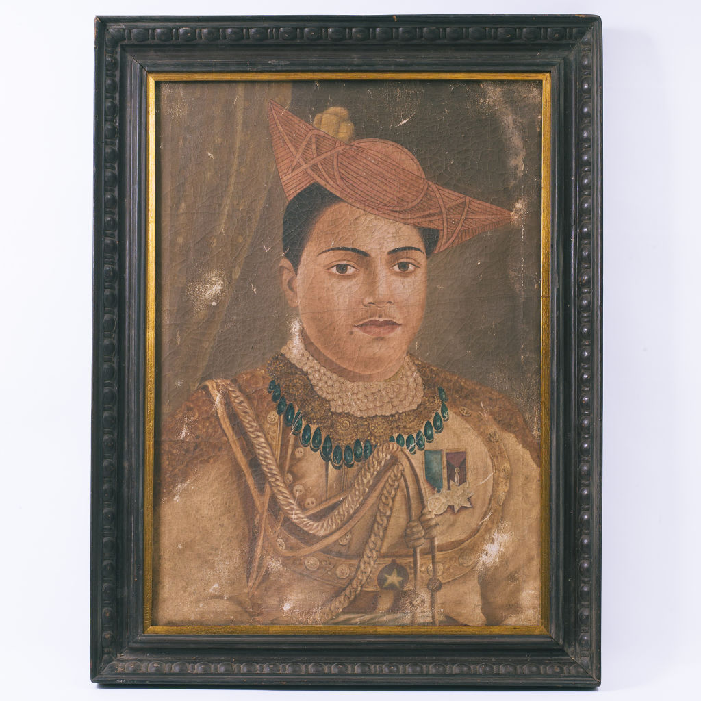 Oil Painting of Maharaja