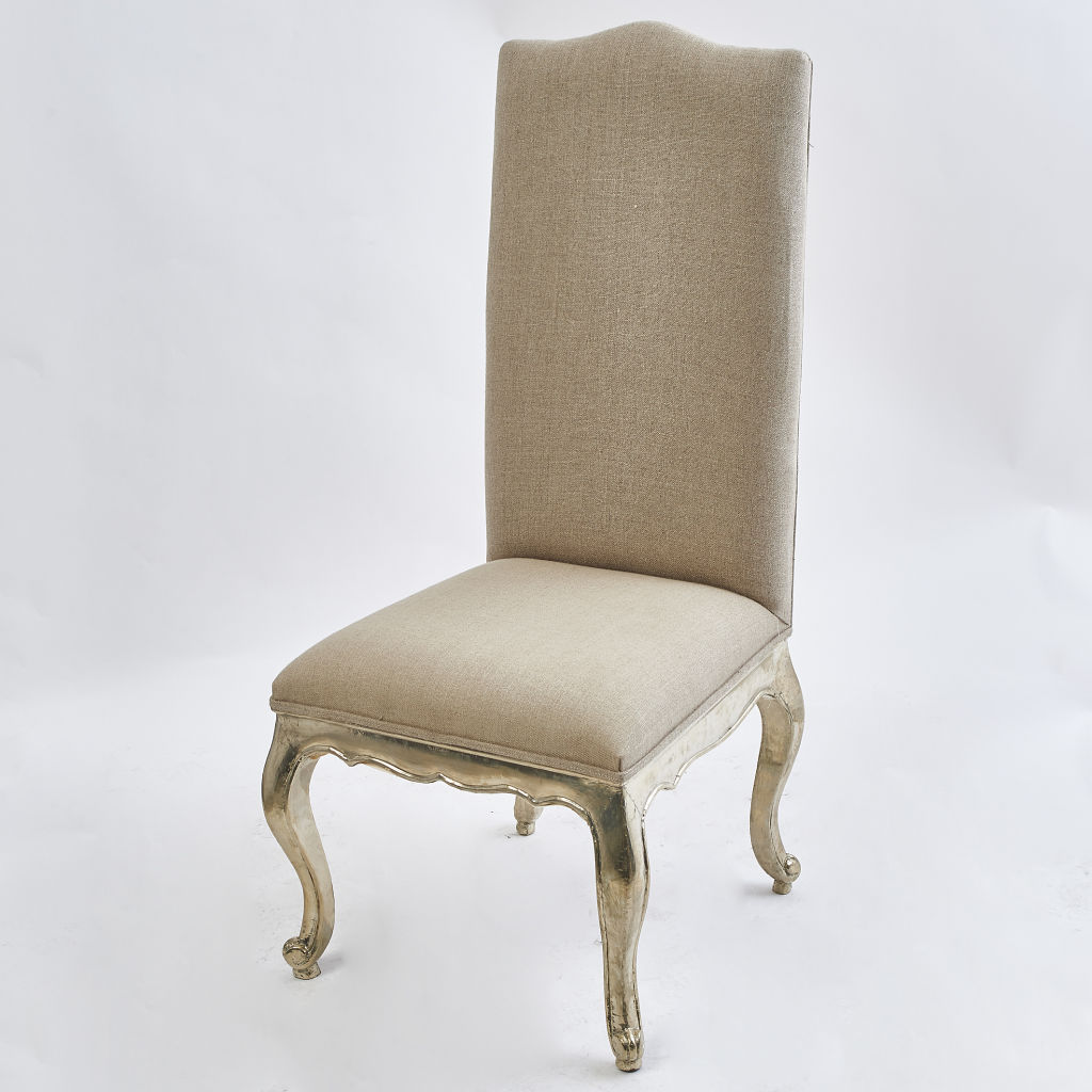 Silvered Dining Chair