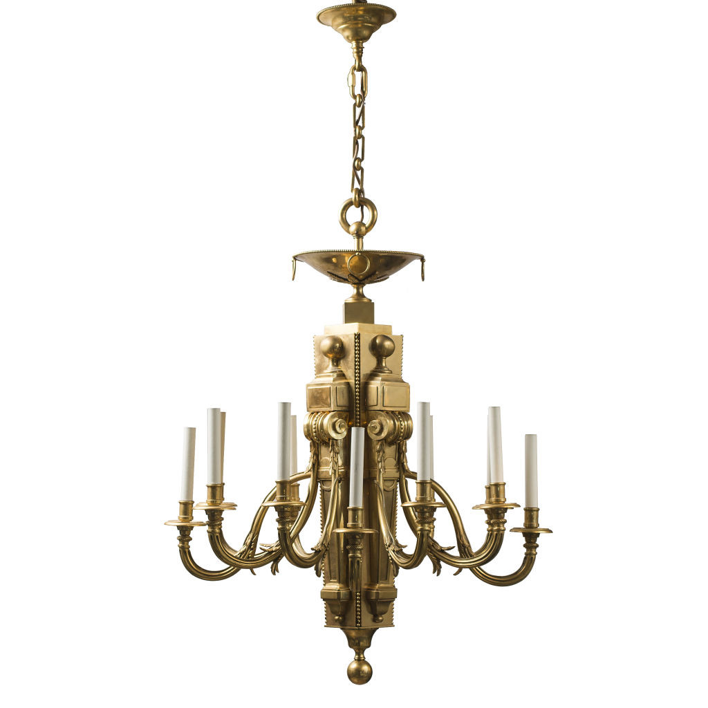 French Louis XVI style Neoclassical Chandelier