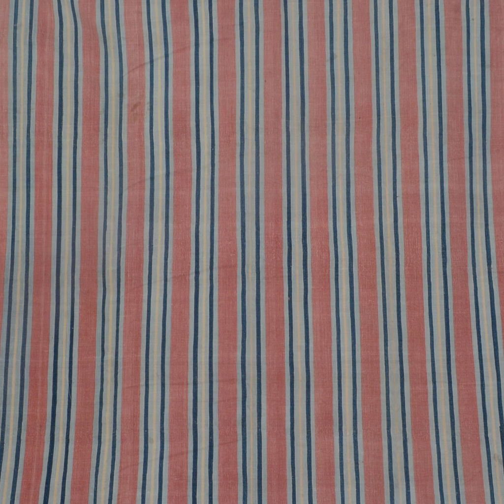 Blue and Red Stripe Dhurrie
