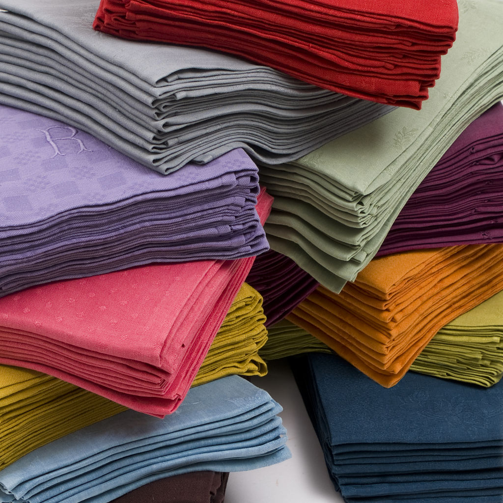 Dyed Linen Napkins