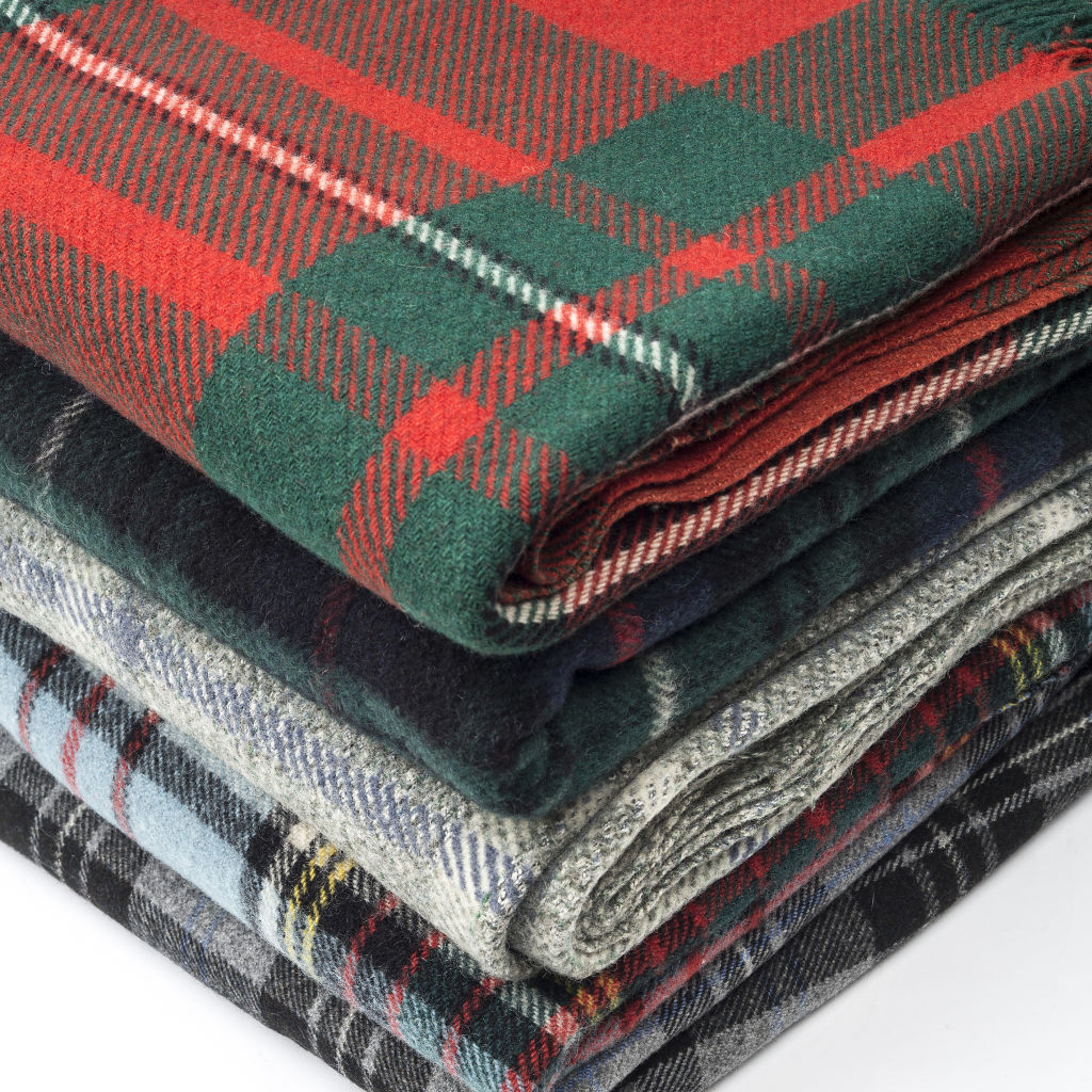 Collection of Welsh Blankets
