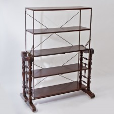 23988 mahogany as shelves