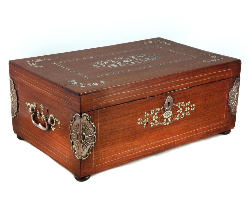 Large Anglo Indian Inlaid Box