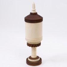 40568 Anglo Indian Ivory Urn
