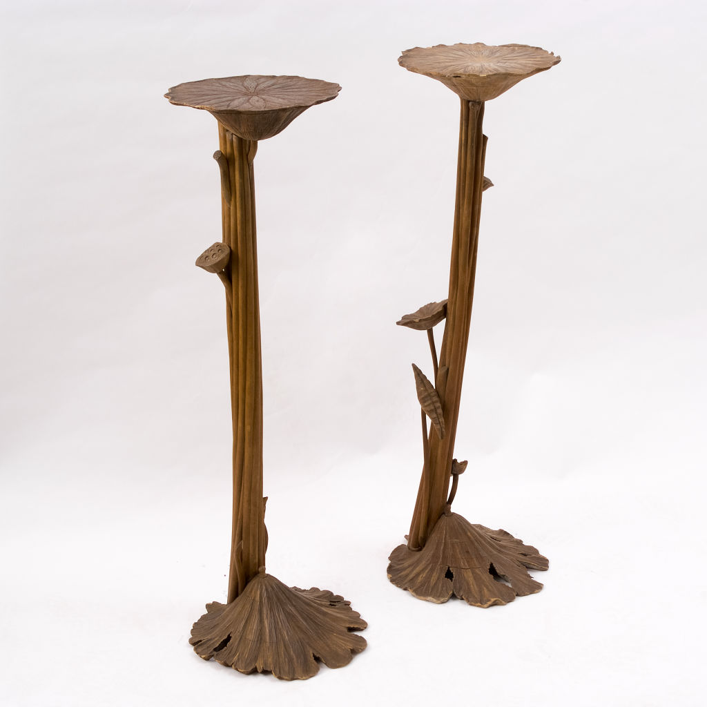 Orientalist Lily Pad Stands