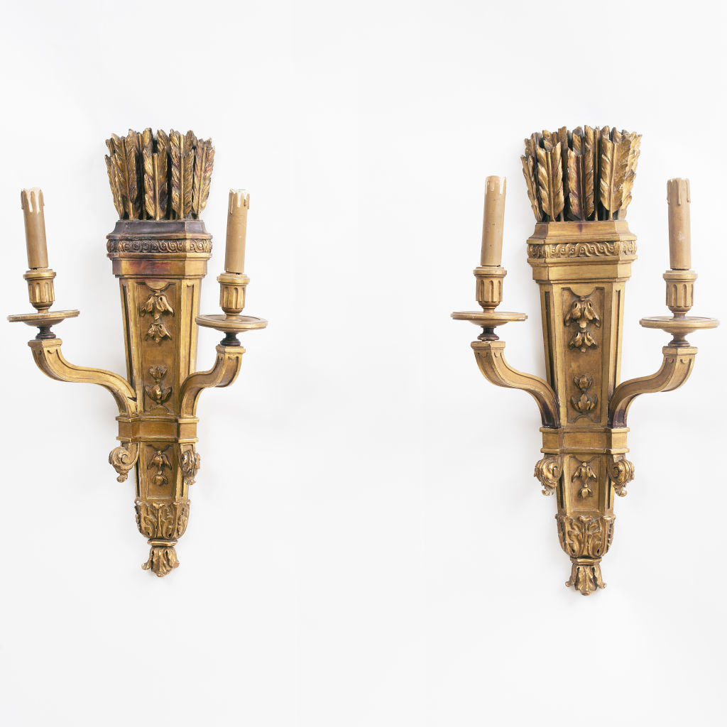 Giltwood Sconces