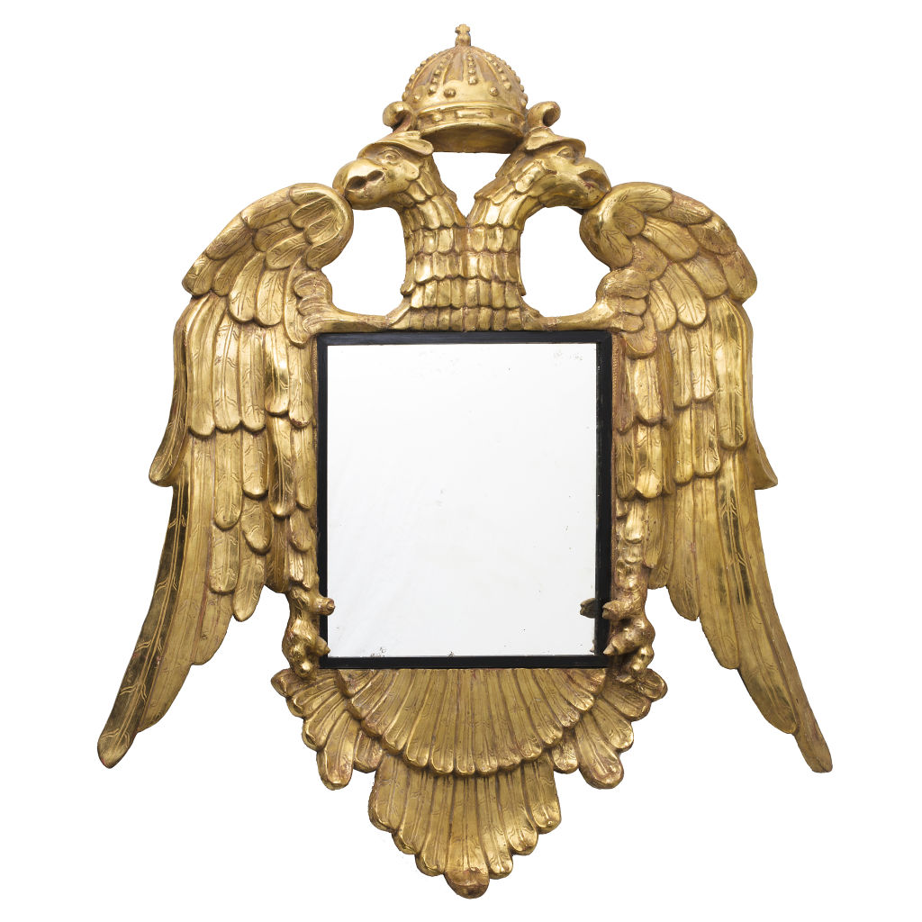 Austro Hungarian Giltwood Mirror