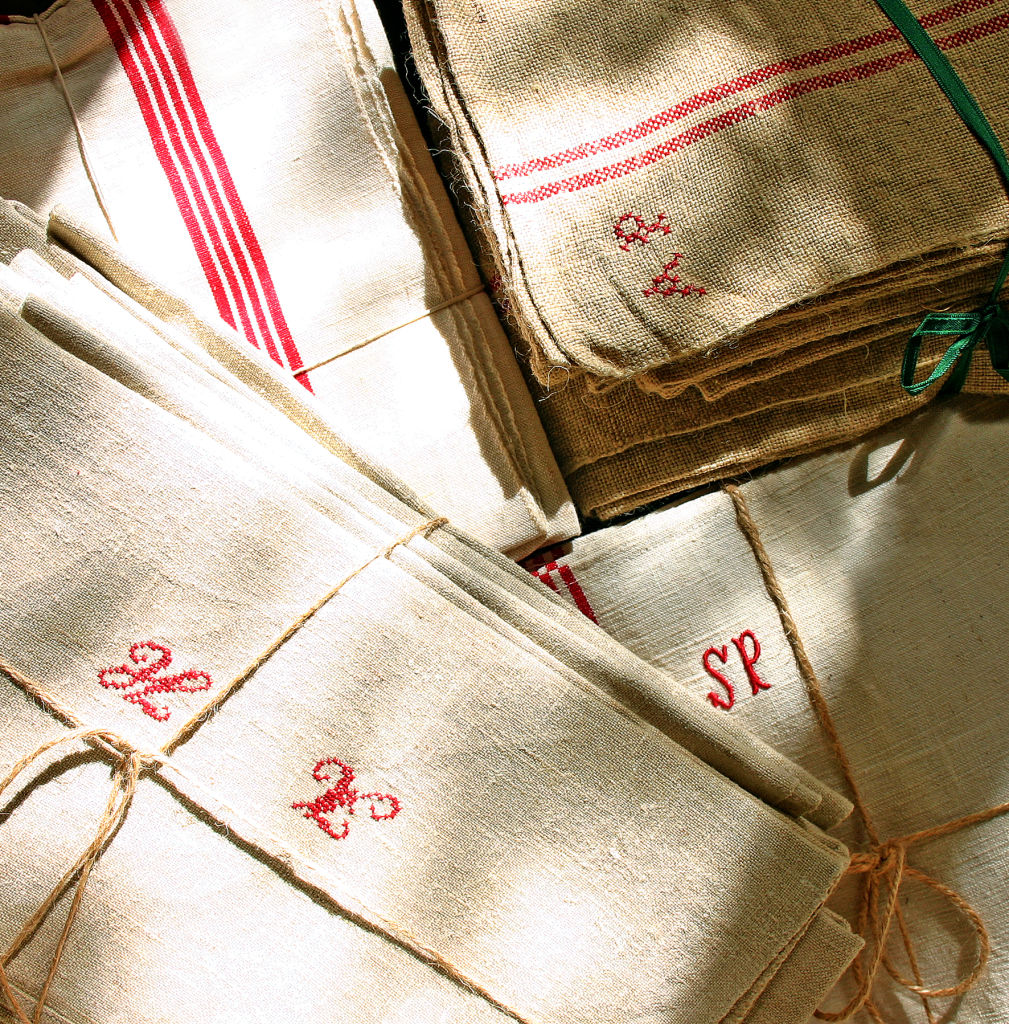 Linen/ Hemp Tea Towels