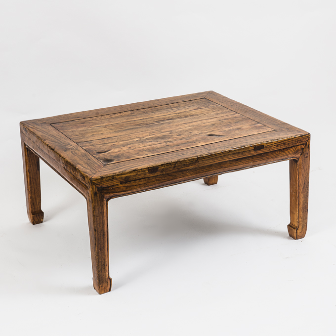 Chinese Elm Low Coffee Table