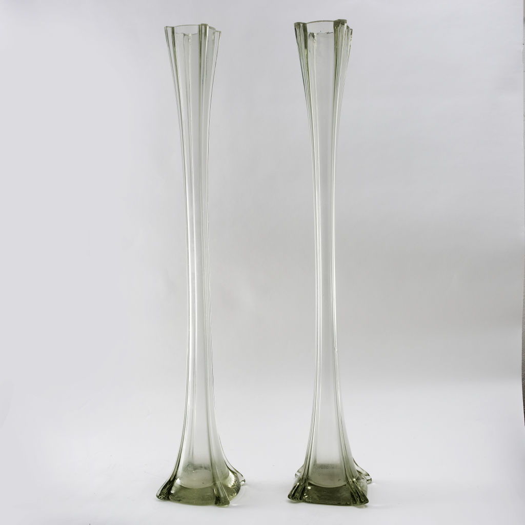 Pair French Lily Vases