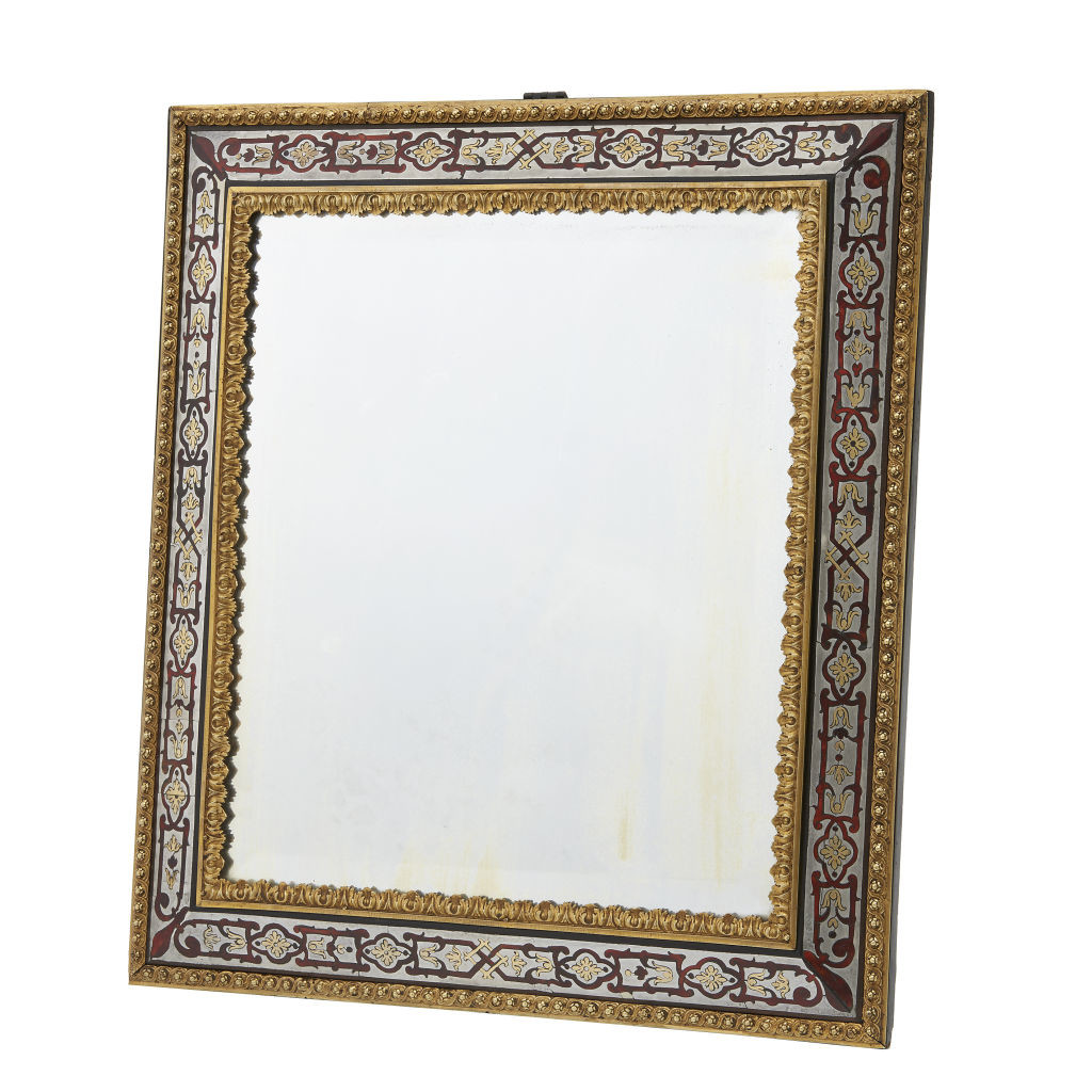 Boulle-Work Dressing table Mirror