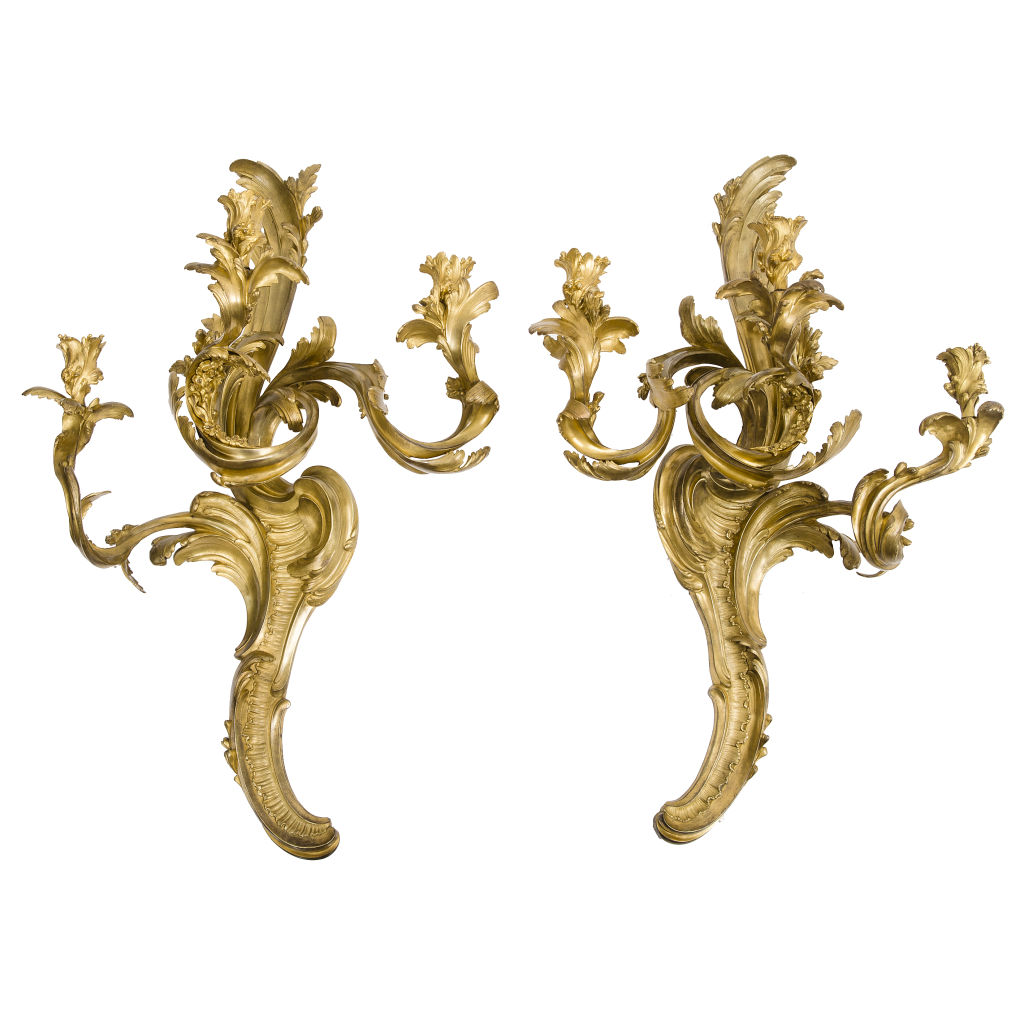 Contemporary Large Caffieri Style Sconces
