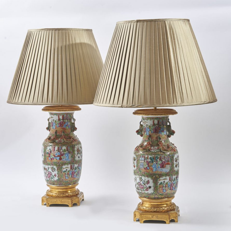 Famille Rose Lamps