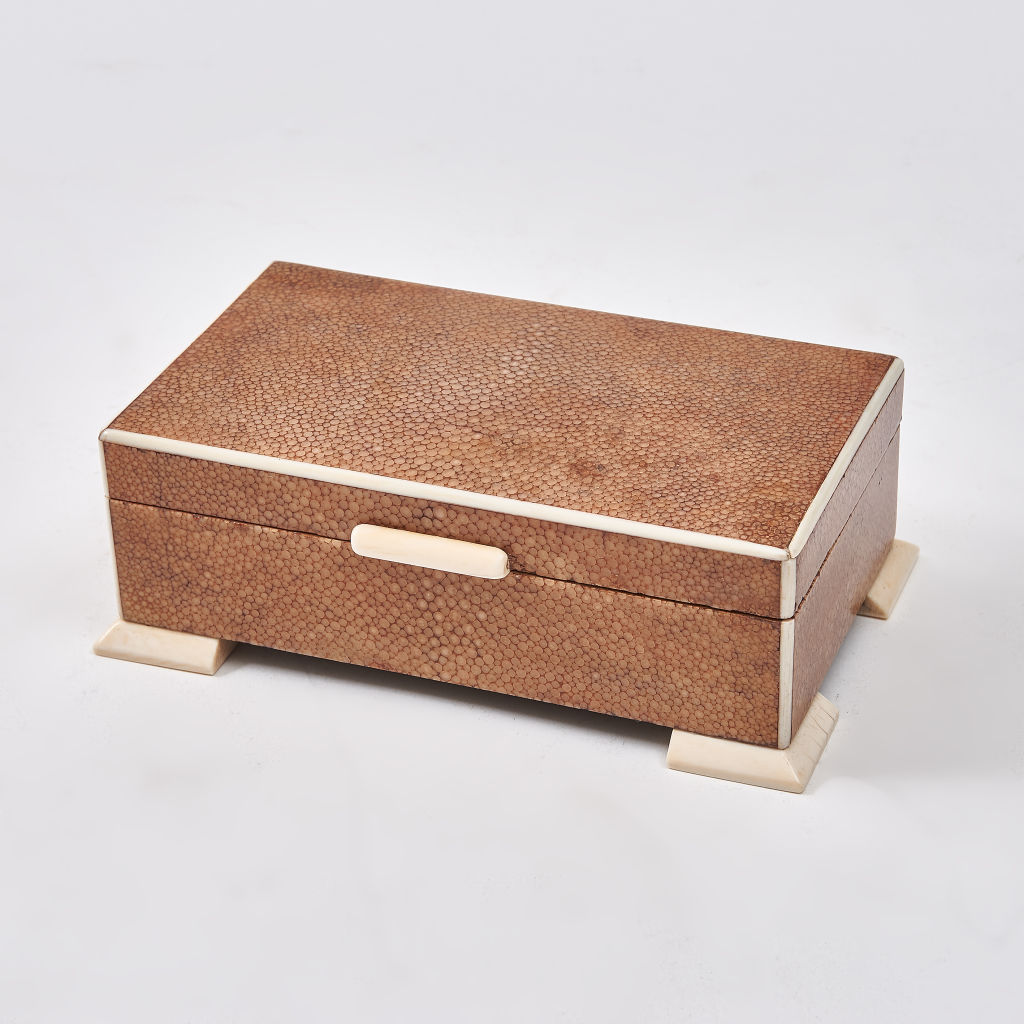 Pink Shagreen Box