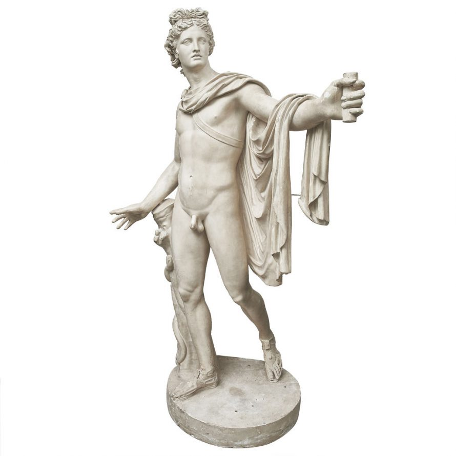 Full Size Plaster of Apollo Belvedere