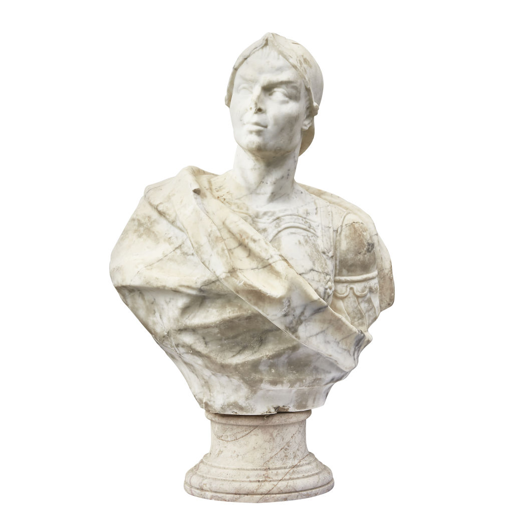 Marble Bust of a Condotierri
