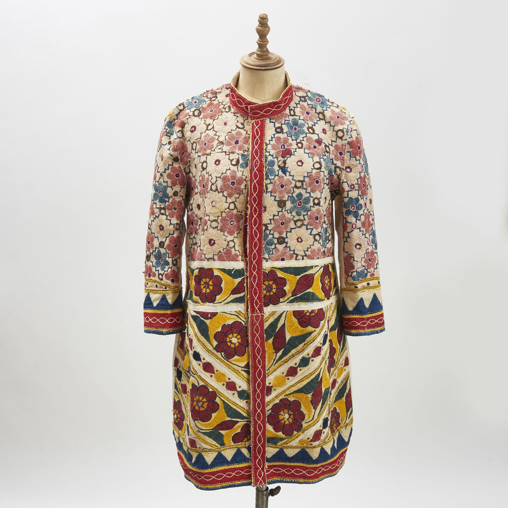 Vintage Indian Fabric Coat