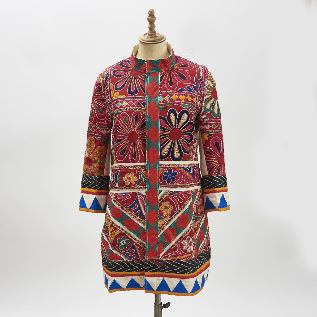 Vintage Indian Fabric Coats
