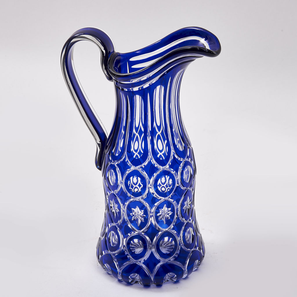 Bohemian Flash Cut Jug