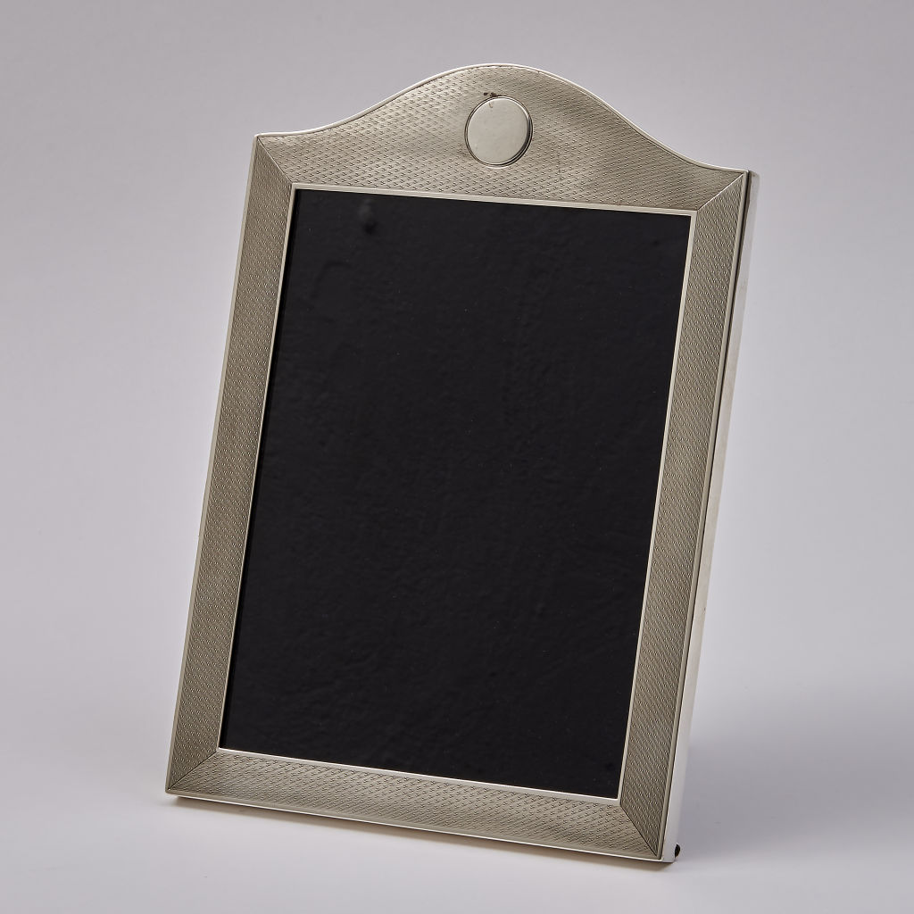 Arch Top Engine Turned Frame