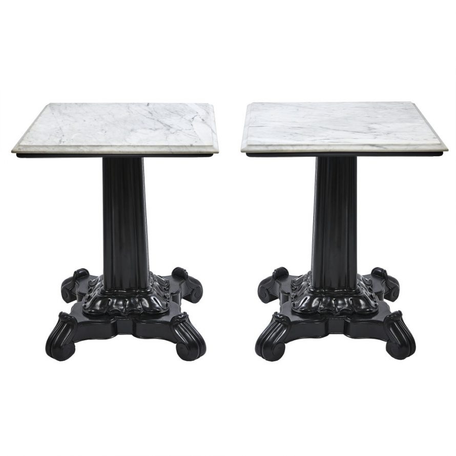 Pair Anglo Indian Side Tables