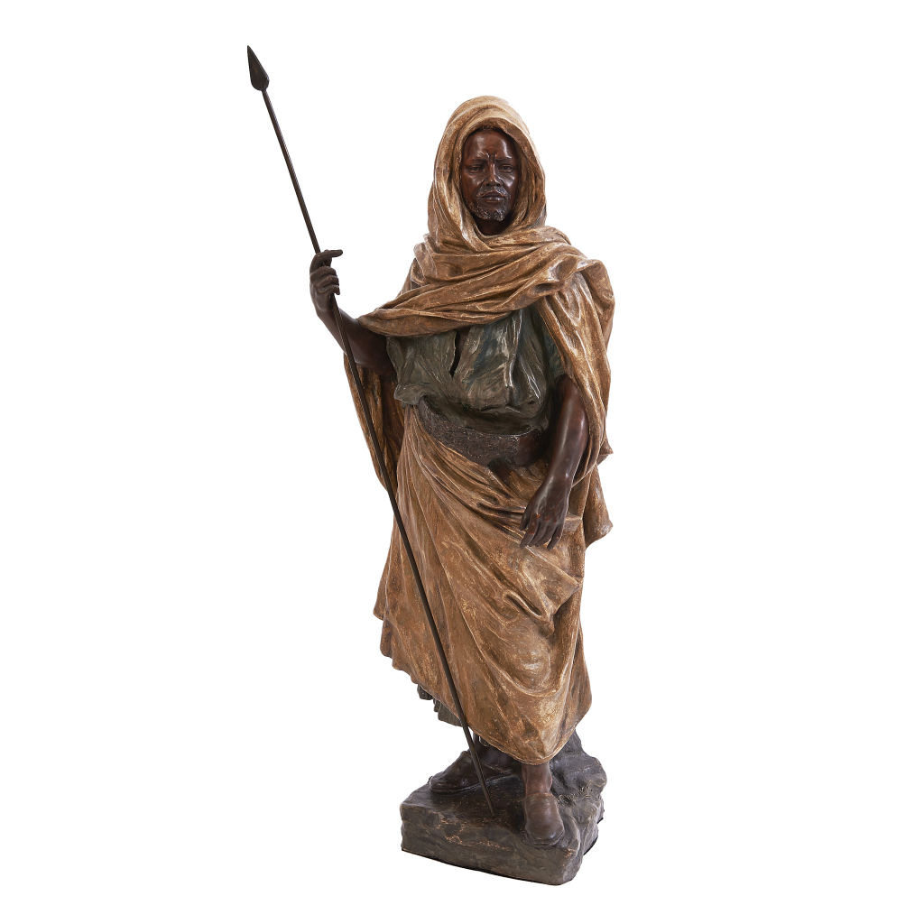 Goldscheider Terracotta Figure