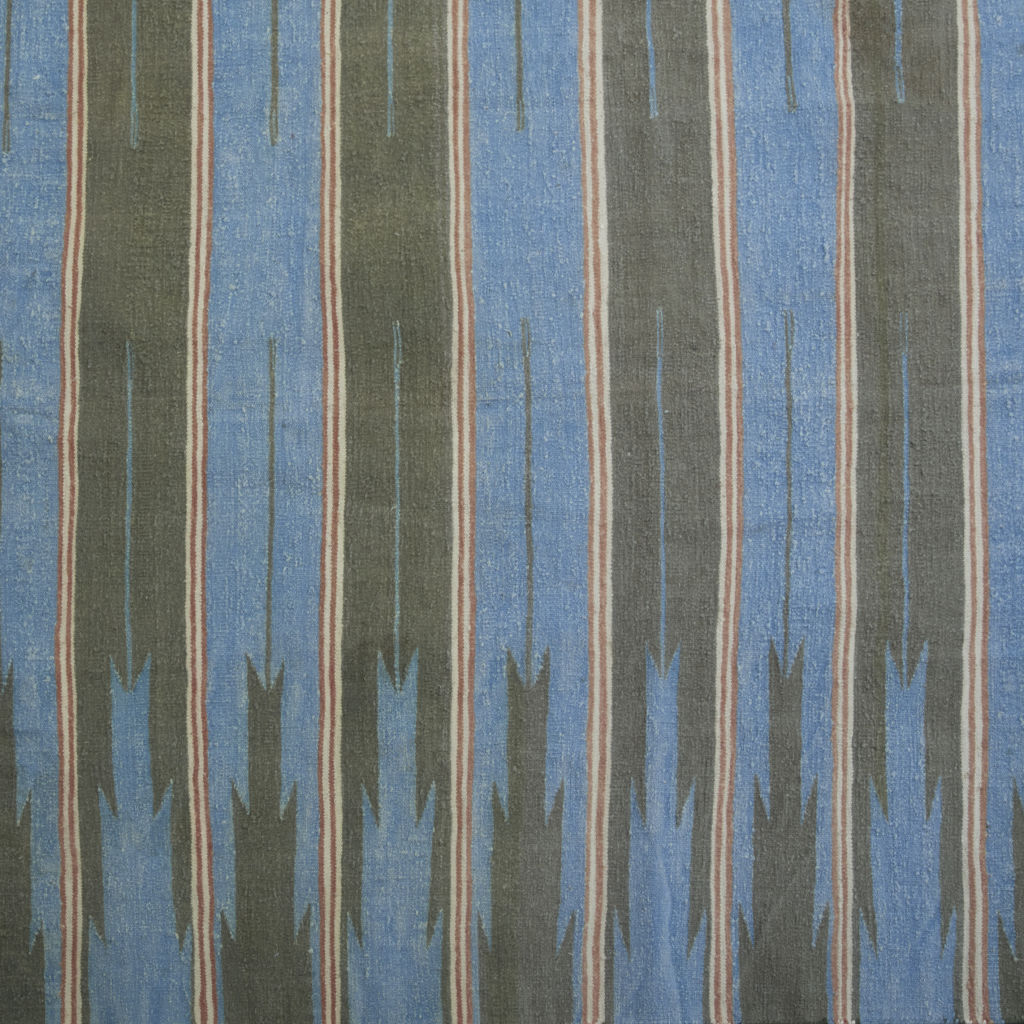 Blue, Green and Grey Stripe
