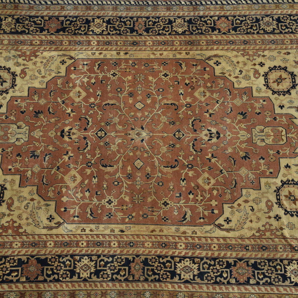 Mughal Design Wool Carpet