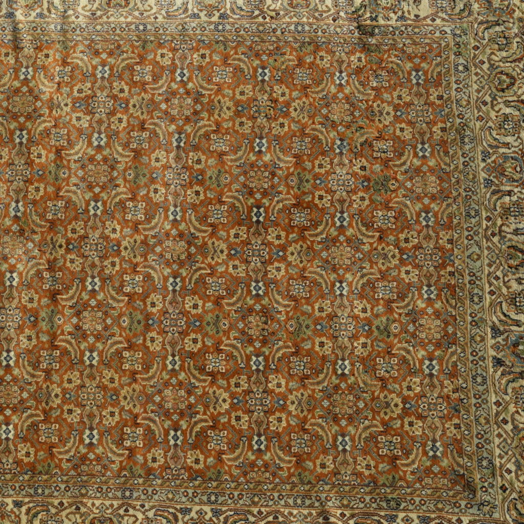 Golden Woven Carpet