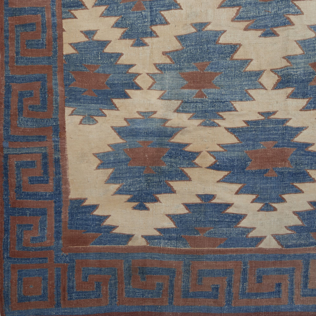 Terracotta Diamonds With Greek Border