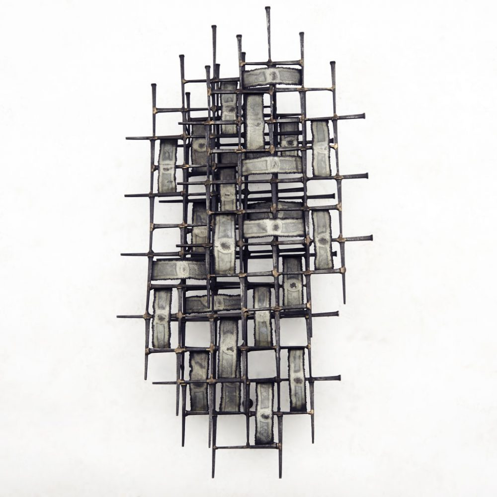 Harry Bertoia Style Sculpture