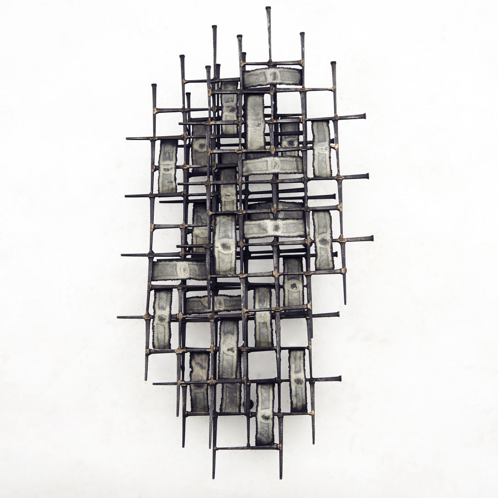 Iron Wall Sculpture