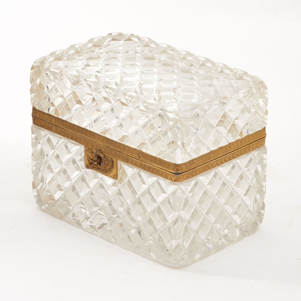 French Crystal Casket