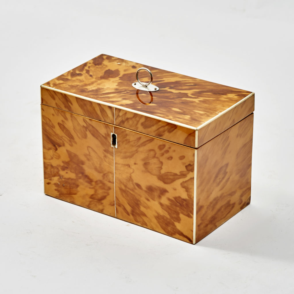 Regency Blonde Tortoiseshell Caddy