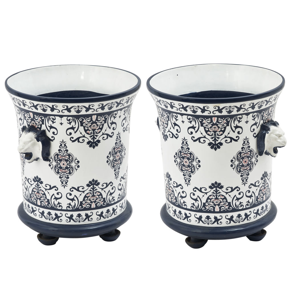 Pair Contemporary Orangerie Urns