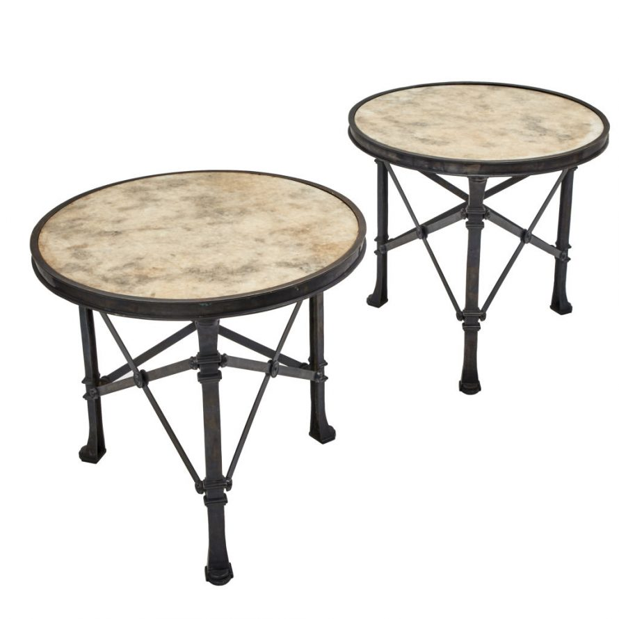 Contemporary Marble Topped Table