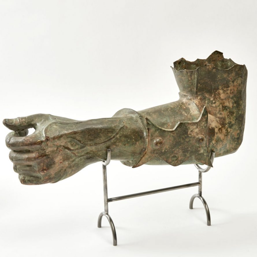Bronze Arm Fragment