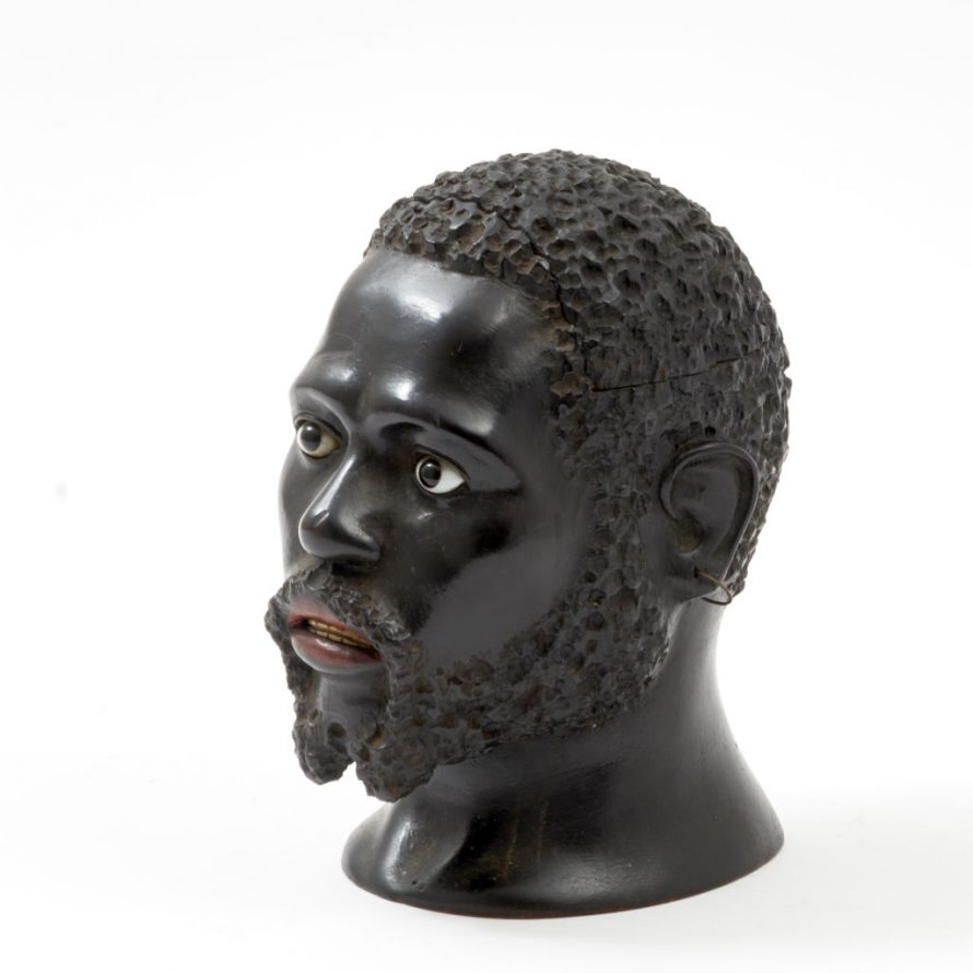 Blackamoors Head Tobacco Jar