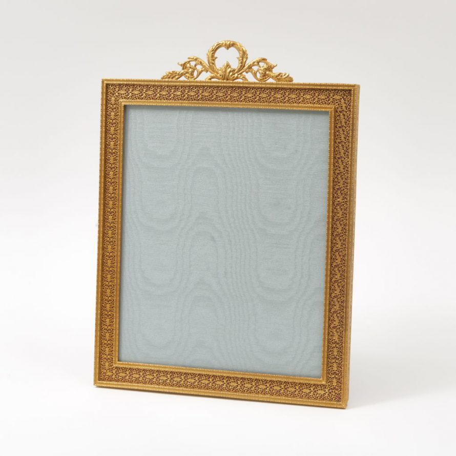 Large Gilt Bronze Photo Frame