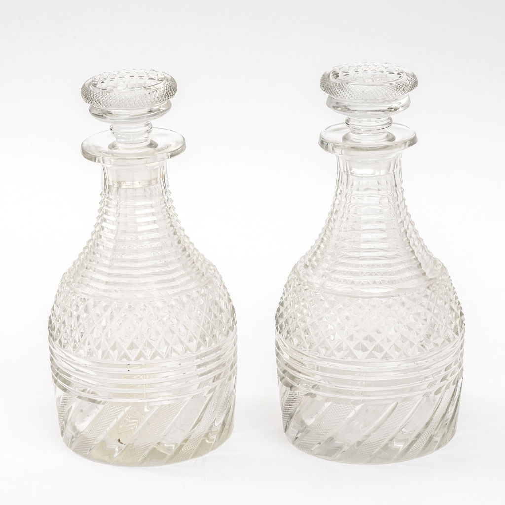Irish Regency Decanters