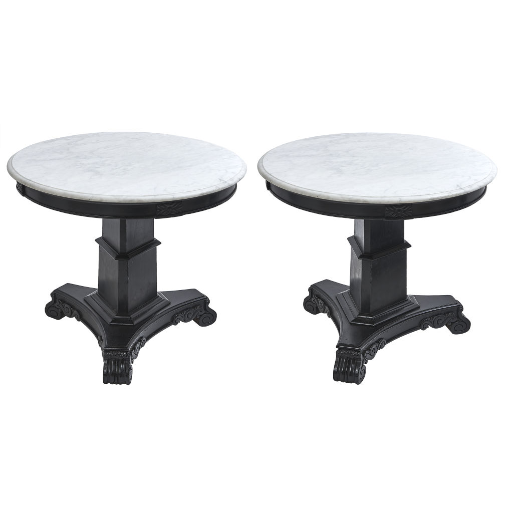Pair Anglo Indian Tables
