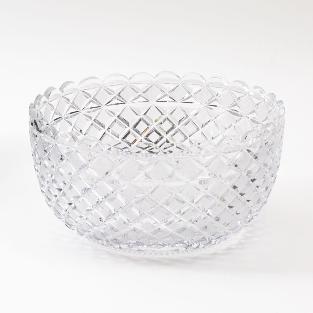 English Regency Crystal Bowl