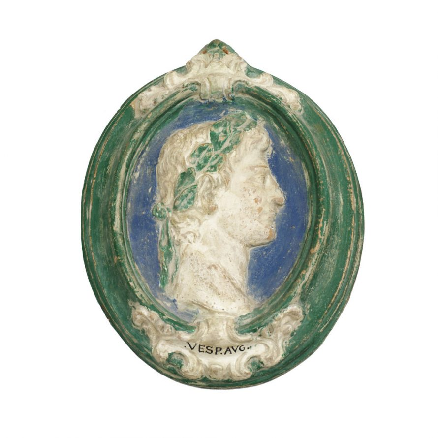 Oval Terracotta Plaque