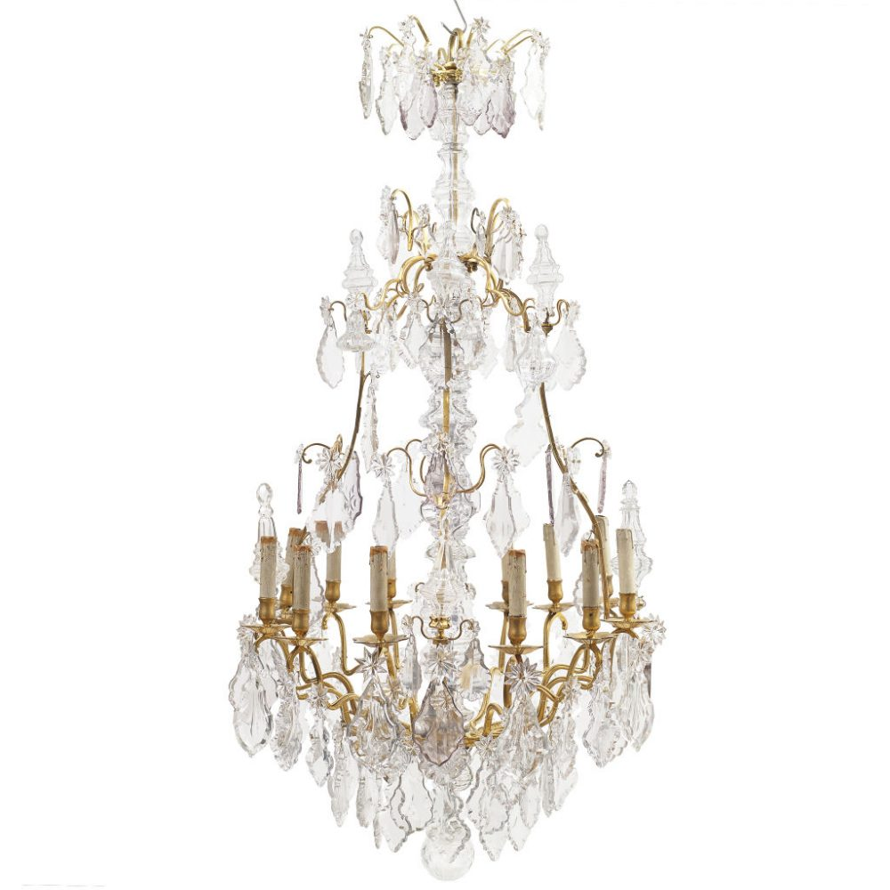 French Louis XV Birdcage Chandelier