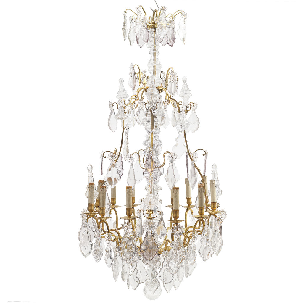 Large Louis XV Birdcage Chandelier