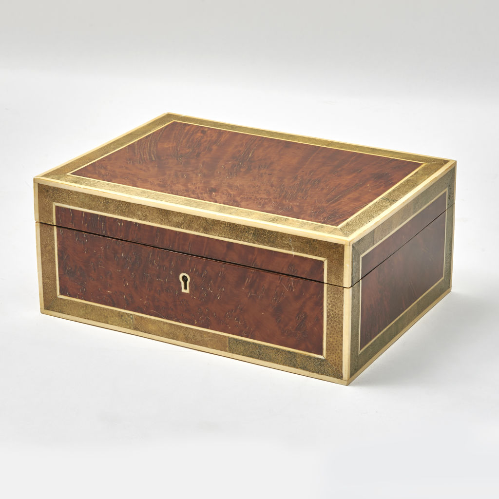 French Burr Yew Humidor