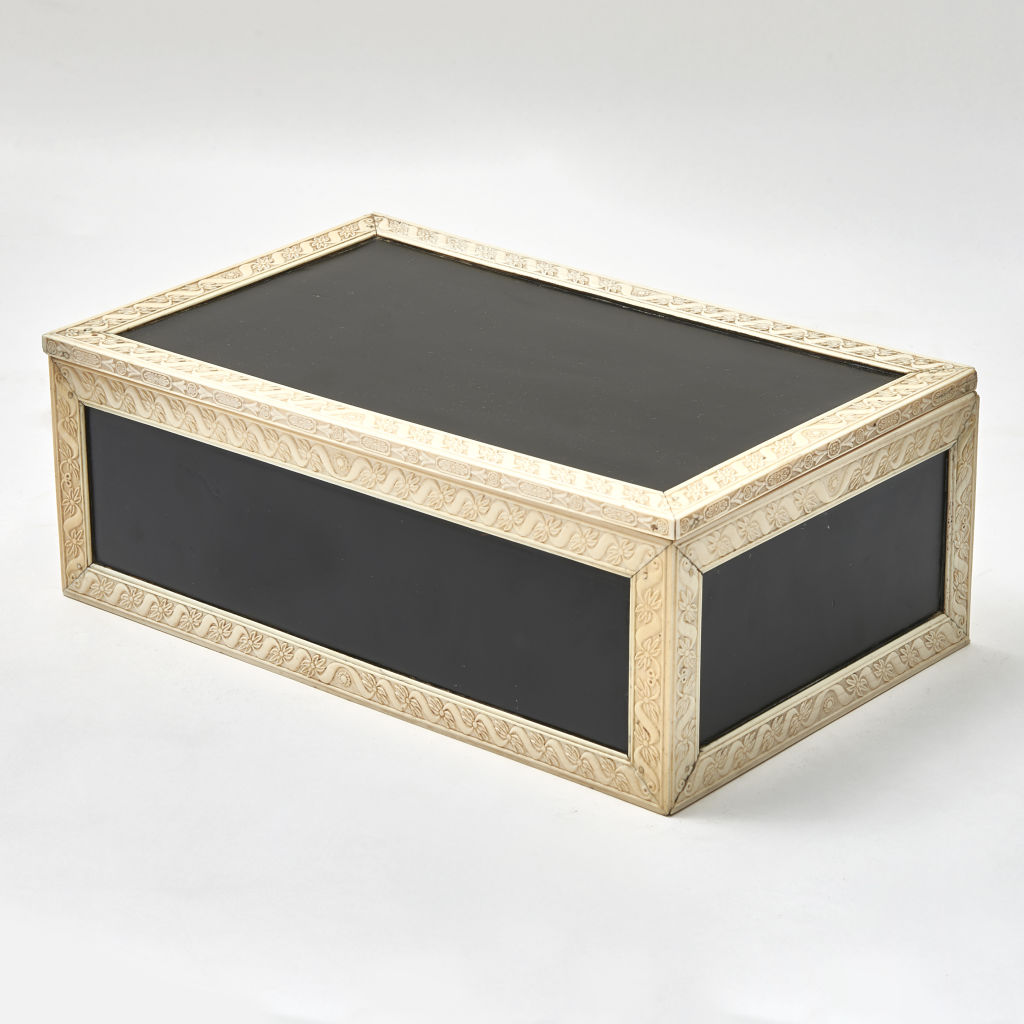 Indian Vizagapatam Ebonised Box
